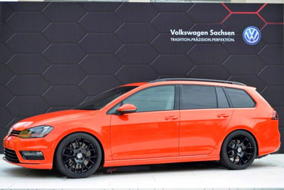Worthersee 2014: Volkswagen Golf Variant Youngster 5000